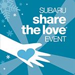 Subaru's Share the Love event