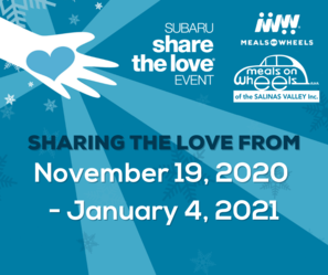 MOWSV Participates in Subaru's Share the Love event
