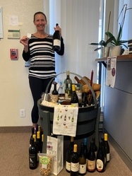 Congratulations Colleen, 2021 Wine Lovers Drawing Winner!