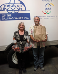 Salinas Program: Volunteer(s) of the Quarter - SEPT 2018