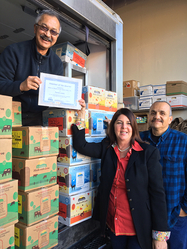 Salinas Program: Volunteer of the Quarter DEC2018