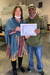 Salinas Program - Volunteer of the Quarter - MAR2021