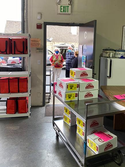 Thousands of Shelf-Stable Meals Distributed
