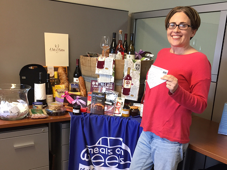 "Congratulations Bonnie C. -  2018 ""Wine Lovers"" Drawing winner!"