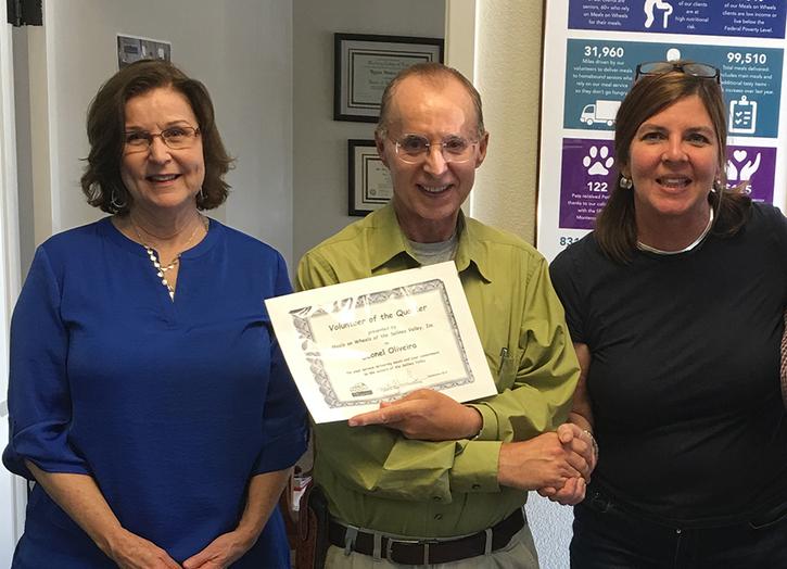 Salinas Program: Volunteer of the Quarter - SEPT2019